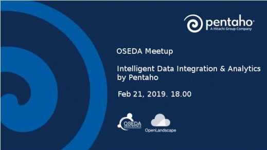 เสร็จสิ้นงาน Meetup - Intelligent Data Integration & Analyti ...